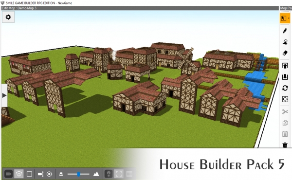House Builder Pack 5 - Cottage Style